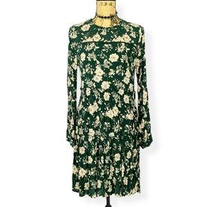 Knox Rose Floral Tiered Boho Dress